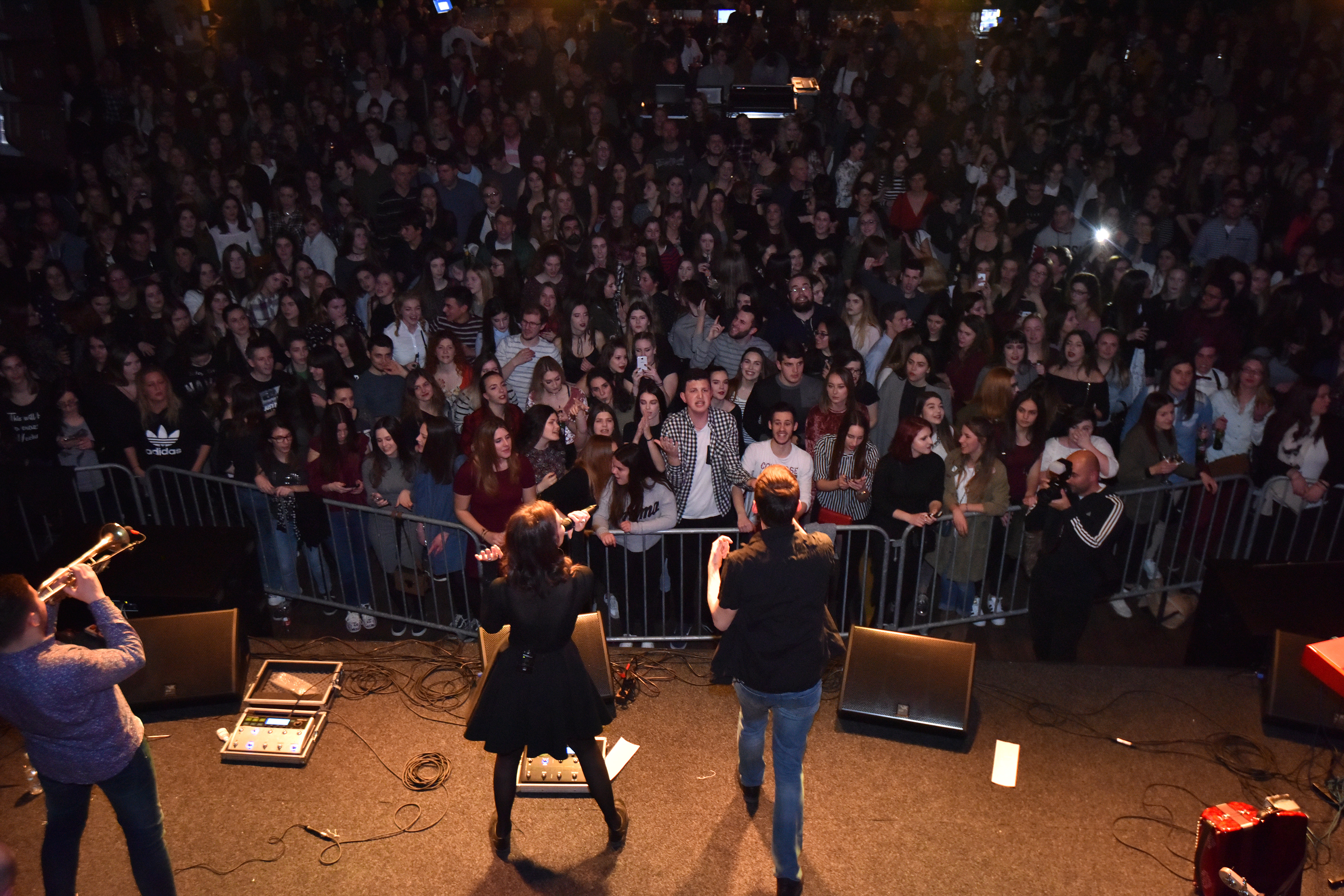 10.02.2017., Zadar -   Grupa S.A.R.S. odrzala je koncert u Arsenalu.  Photo: Dino Stanin/PIXSELL